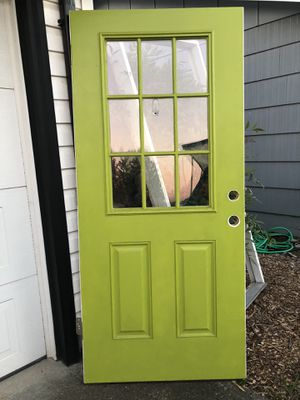 Exterior door with frame for Sale in Woodburn, OR