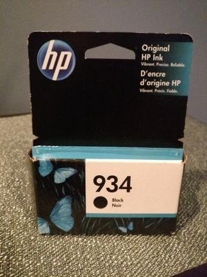 HP 934 Ink Cartridge - Black for Sale in Chicago, IL