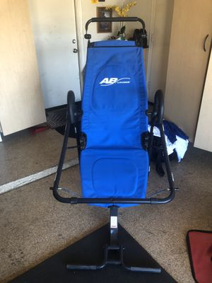 Exercise equipment AB Lounge 2 Abdominal workout exercise lounger for Sale in Glendale, AZ