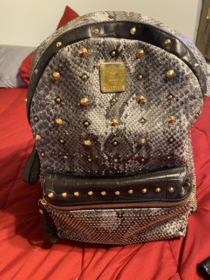 Studded MCM designer backpack for Sale in Pittsburgh, PA