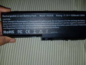 Laptop charger and battery for Sale in Pittsburgh, PA