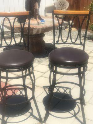 Bar stools $50.00 both . for Sale in Hemet, CA