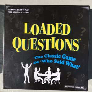Loaded questions party board game for Sale in San Mateo, CA