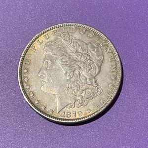🔷 Naturally Toned 1879 Morgan Silver Dollar Coin for Sale in Las Vegas, NV