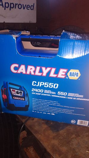 Carlyle jump box cjp by 50 paid 1 + 79 for Sale in Portland, OR