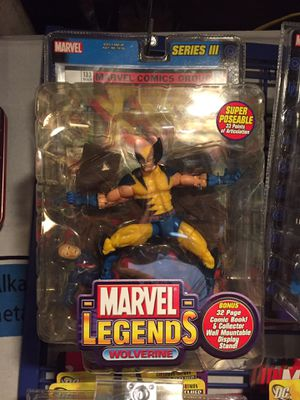 Marvel Legends Wolverine Action Figure for Sale in Tacoma, WA