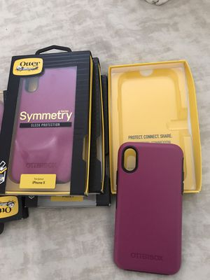 Otter Box case for iPhone X for Sale in Lynwood, CA