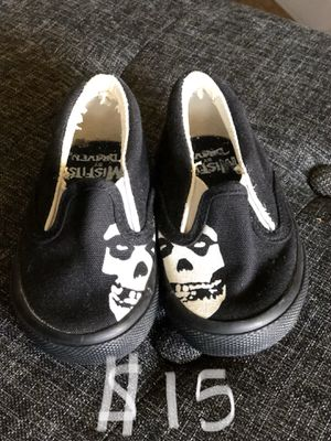 The misfits baby/toddler shoes size 4 for Sale in San Dimas, CA