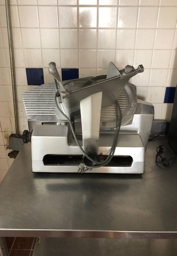 Commercial Meat Slicer - Deli Food Cutter