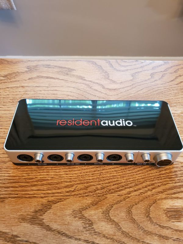 Resident Audio T4 Interface