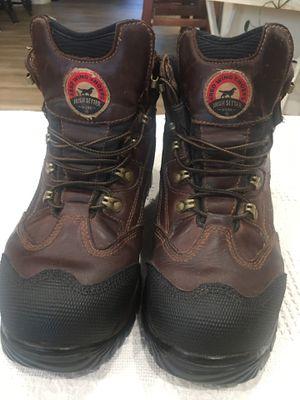 Men's Red Wing Irish Setter Full Grain Waterproof Steel Toe Boots for Sale in Miami, FL