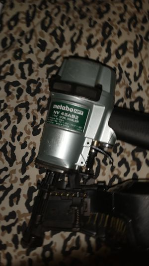 Metabo hpt 1 1/4 nailer for Sale in Boon, MI