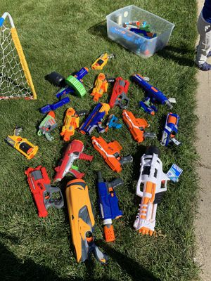 Nerf Gun Lot Set for Sale in Glendale Heights, IL