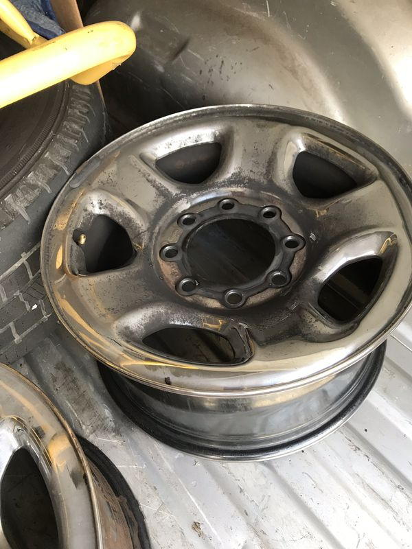 4 Dodge Ram Rims and one LT 265/70R17 Tire $75