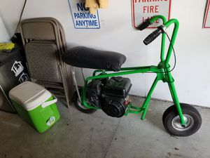 Old school mini bike, new 7hp predator motor does wheelies if not careful ,starts first pull every time,fun bike for Sale in Troy, MO