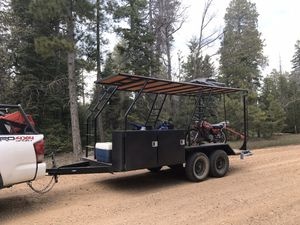 Toy hauler trailer for Sale in Phoenix, AZ