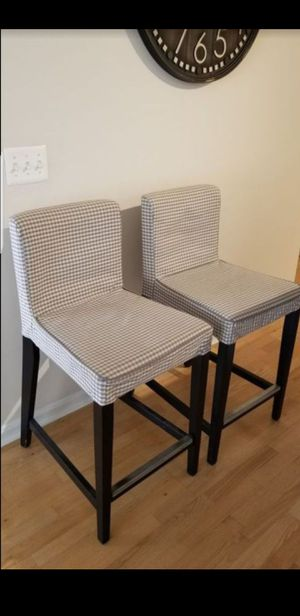 2 Ikea barstools for Sale in Fairfax, VA