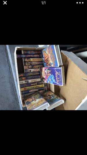 VHS movies make me a offer for all for Sale in Montclair, CA