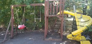 Swing set, already taken apart for Sale in Salt Lake City, UT