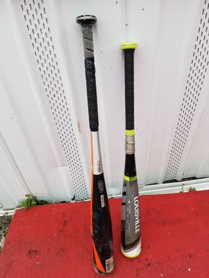 2 baseball bats for Sale in Tampa, FL
