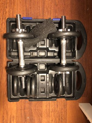 CAP Barbell Adjustable Dumbbell Set, 30 for Sale in Millbrae, CA