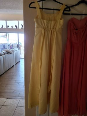 Canary girls size 12 formal flower girl dress for Sale in Glendale, AZ