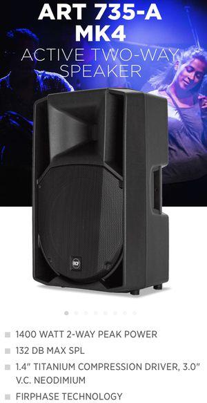 Speakers, RCF, RCF 735 MK4, Powered Speakers, Pro Audio, Proaudio, DJ for Sale in East Los Angeles, CA