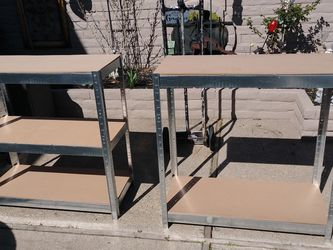 2 STORAGE SHELVES for Sale in Byron,  CA