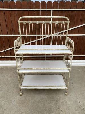 Corsican Iron Baby Changing Table for Sale in La Mirada, CA