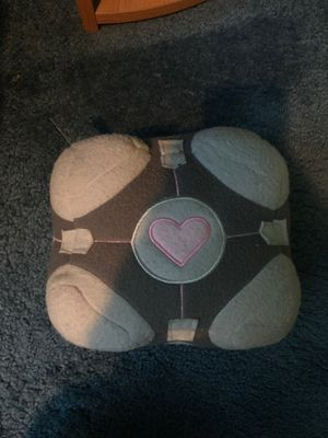 Portal Companion Cube Plushie Used for Sale in Sacramento, CA