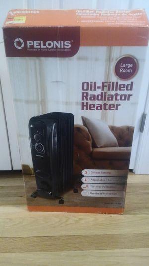 Like new pelonis oil-filled radiator heater for Sale in Rockville, VA