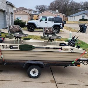 Pelican Boat 10E for Sale in Fort Worth, TX