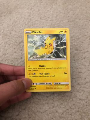 Pikachu Pokemon Card Rare for Sale in Raleigh, NC