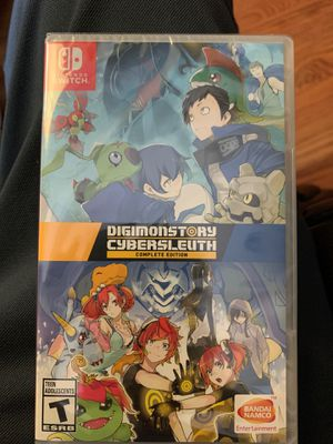 Digimon Story Cyber Sleuth - Nintendo Switch for Sale in Hayward, CA