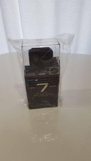 GoPro hero 7 Black action camera 4k waterproof brand new sealed for Sale in Los Angeles, CA