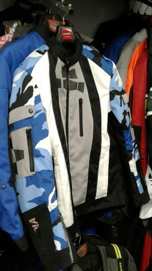 motorcycle jacket with protective armor brand new size large for Sale in Los Angeles, CA