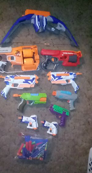 NERF GUNS / ammo for Sale in Fishers, IN
