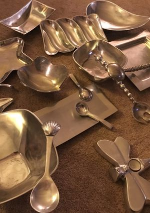 Lots & Lots of PEWTER decor & serving dish's for Sale in Cottonwood Heights, UT