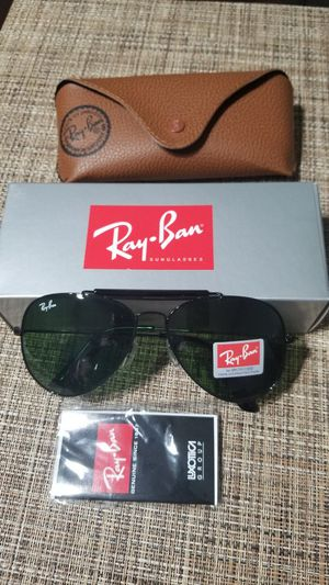 Rayban sunglasses aviator outdoorman II 3029 model new in box for Sale in Phoenix, AZ