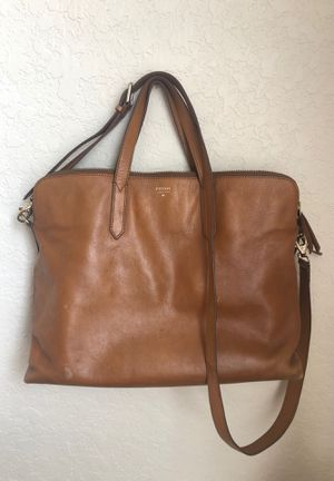 Leather Fossil Bag for Sale in Tampa, FL