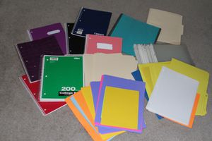 Notebooks/Folders/Ect. for Sale in Midway, GA