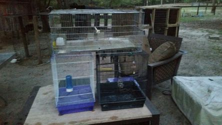Cage for parakeets I love birds for Sale in Anthony,  FL