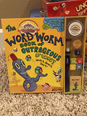 The Cranium Word Worm Book of Outrageous Fun! for Sale in Happy Valley, OR