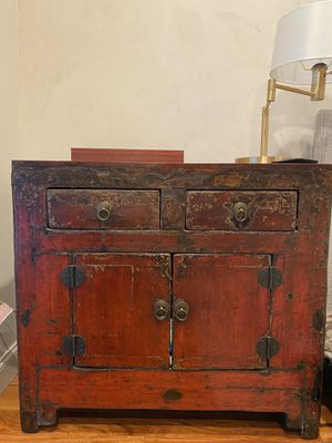 Antique Chinese Cabinet with Drawers for Sale in Fort Lauderdale, FL