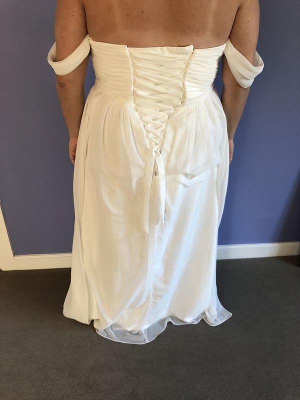 WEDDING DRESS CHIFFON
