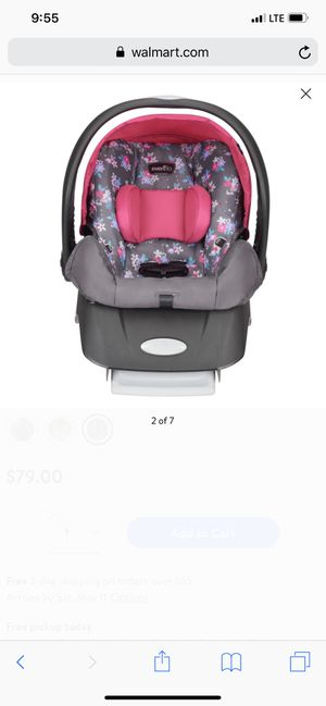 Car seat for Sale in Coal Valley, IL