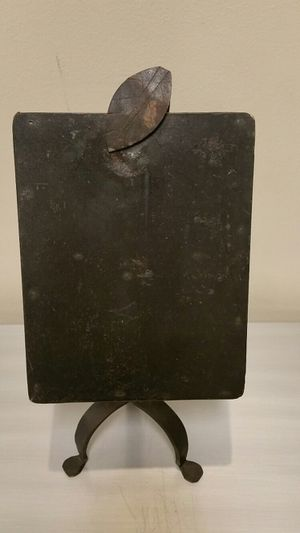 VINTAGE WROUGHT IRON PEDESTAL PAPER HOLDER for Sale in Arlington, VA