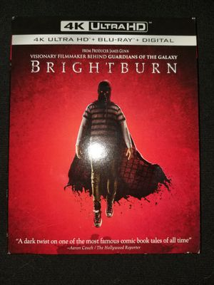 *NEW* Brightburn 4K UHD/HDR BluRay for Sale in Spring, TX