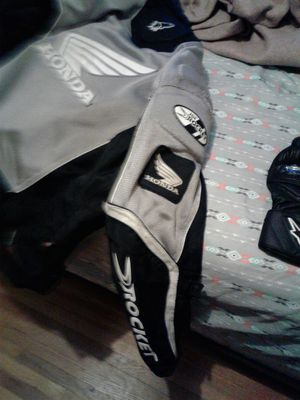 Motorcycle jacket and gloves for Sale in Wichita, KS
