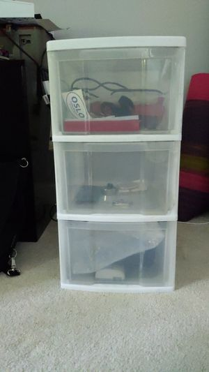 Plastic drawers for Sale in Carrboro, NC